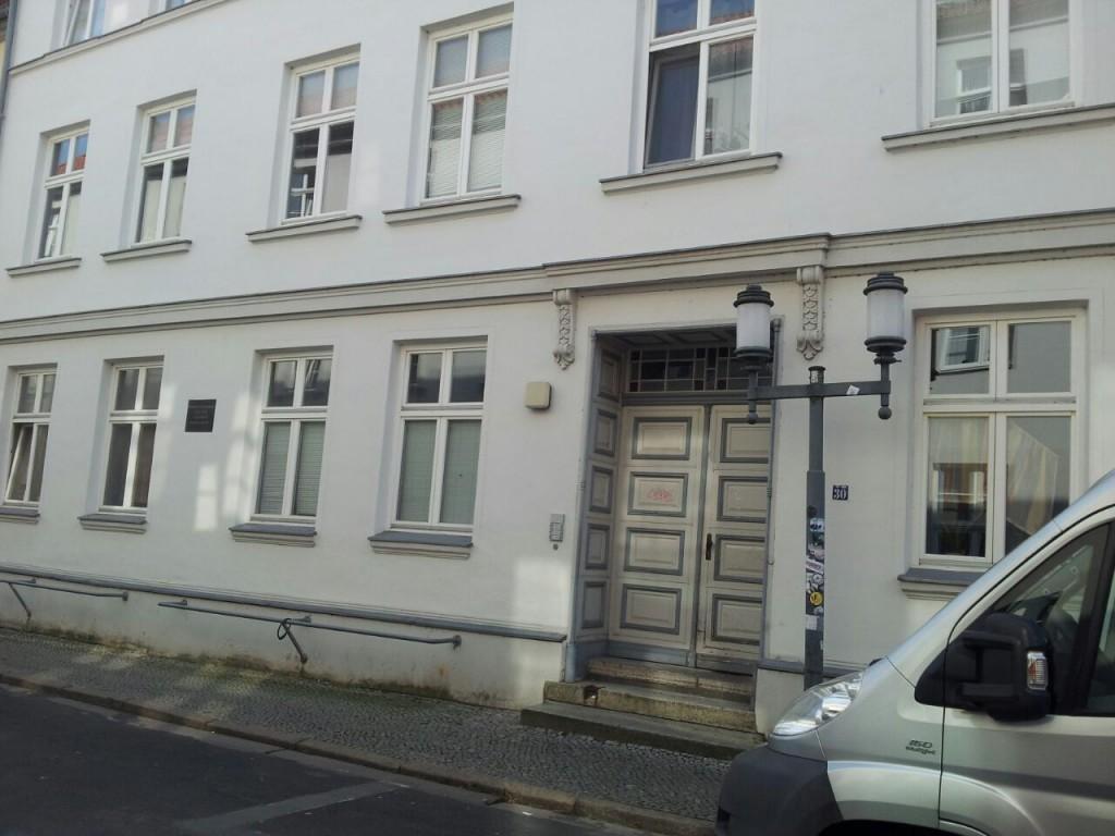 Domstraße Vorderansicht Hauseingang