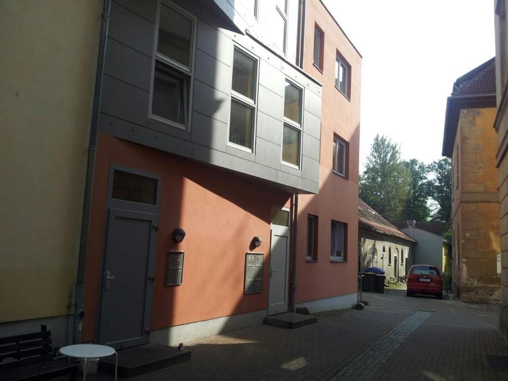 Domstraße Hauseingang